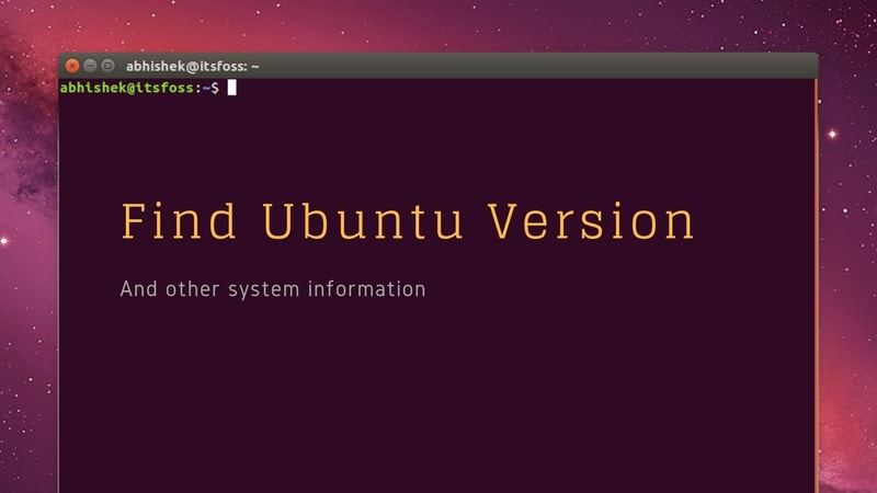 How To Check Ubuntu Version Number [Easily]
