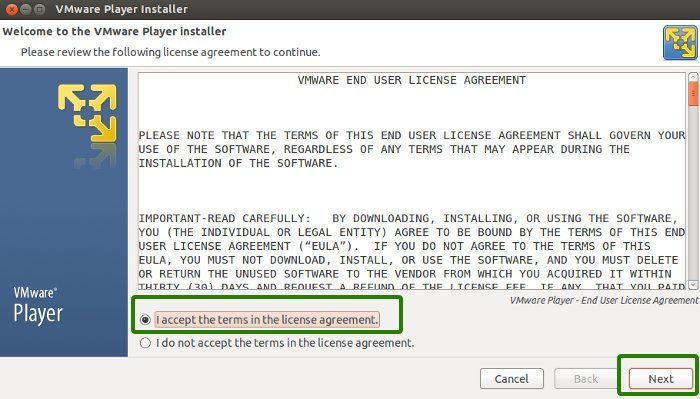 install VMware Player in Ubuntu 13.10