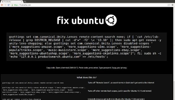 Fix Ubuntu sued by Canonical