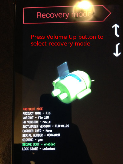 Flash TWRP Recovery mode to root Nexus 7 2013 in Linux