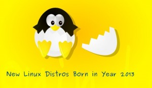 [Year 2013 For Linux] 14 New Linux Distributions Born