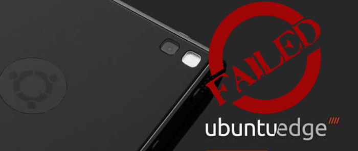 Ubuntu edge failed crowdfunding campaign
