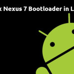 How To Unlock Bootloader Of Nexus 7 2013 In Ubuntu Linux