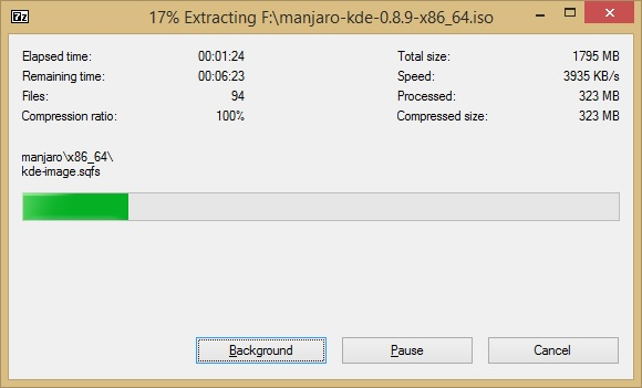 how to create manjaro bootable usb