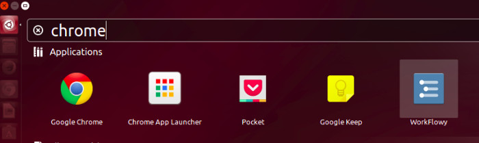 Enable Chrome App Launcher Linux