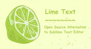 Lime Text: An Open Source Alternative Of Sublime Text