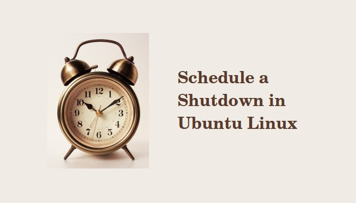 Shutdown or Restart Ubuntu Using Linux Command Line