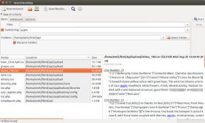 Use SearchMonkey To Search Text In All Files Within A Directory In Ubuntu