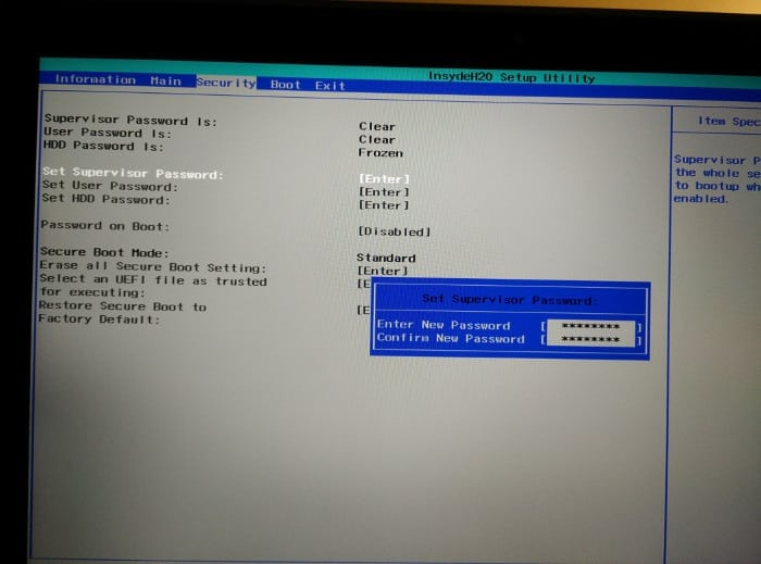 How To Disable Secure Boot In Windows 8 1 In Acer Laptops | Eder Pansani