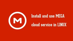 Install And Use MEGA Cloud Storage In Linux