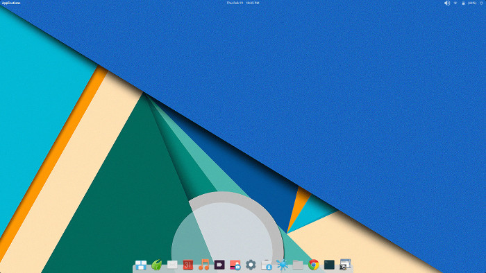 Paper theme in Elementary OS Freya
