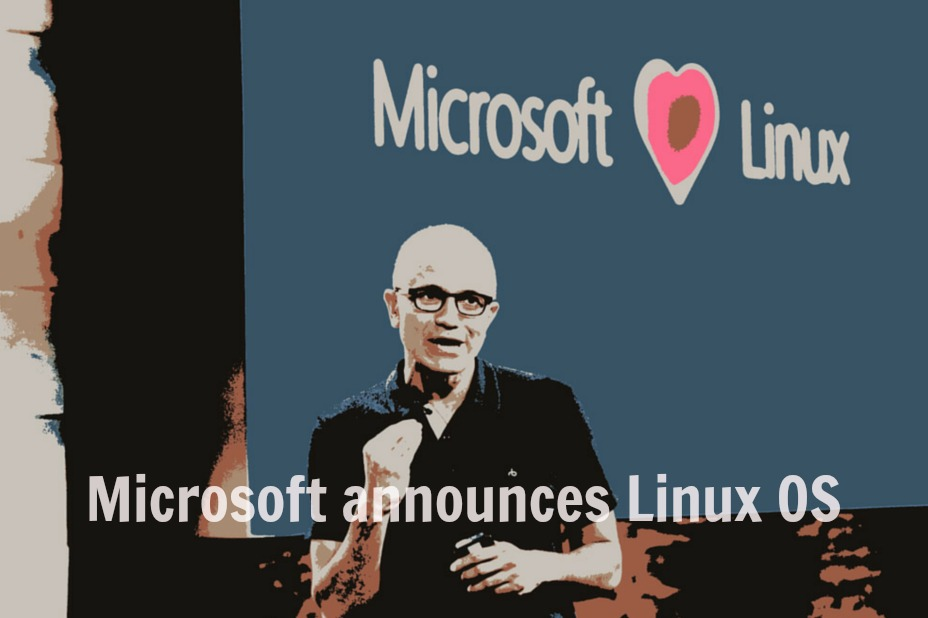 Microsoft Announces Its Own Linux OS