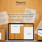Papyrus: An Open Source Note Manager