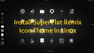 Give Your Desktop A Makeover With Super Flat Remix Icon Theme