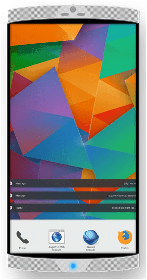 KDE Plasma Mobile on Nexus 5