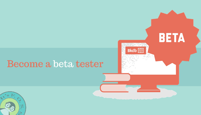 Become a beta tester to help Linux