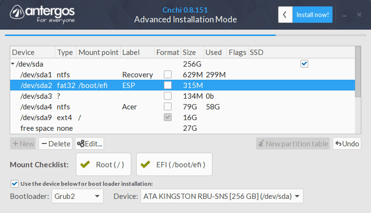 HOW TO: Dual Boot Antergos & Windows UEFI (Expanded) - by