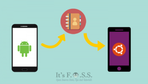 How To Transfer Contacts From Android To Ubuntu Phone