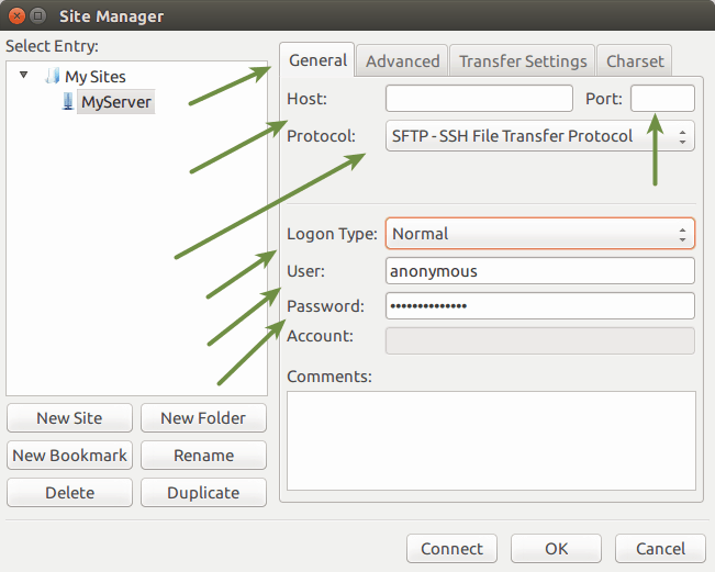 Cannot establish FTP connection to an SFTP server