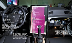 Hacker Builds A Self Driving Car With Ubuntu Linux