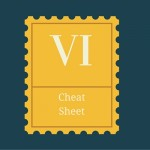 [Free Download] Vi Cheat Sheet For Beginners