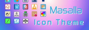 Masalla Icon Theme Is Flat And Fabulous