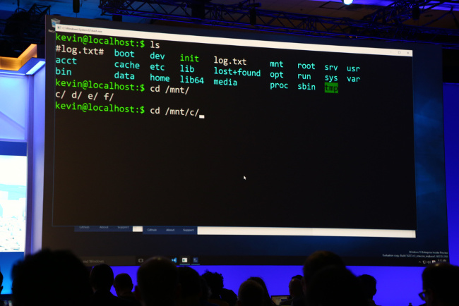 Linux Bash in Windows