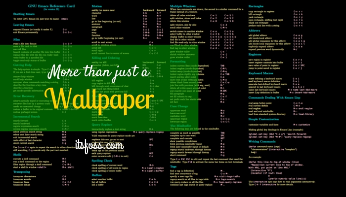 Download Linux Wallpapers That Are Also Cheat Sheets It