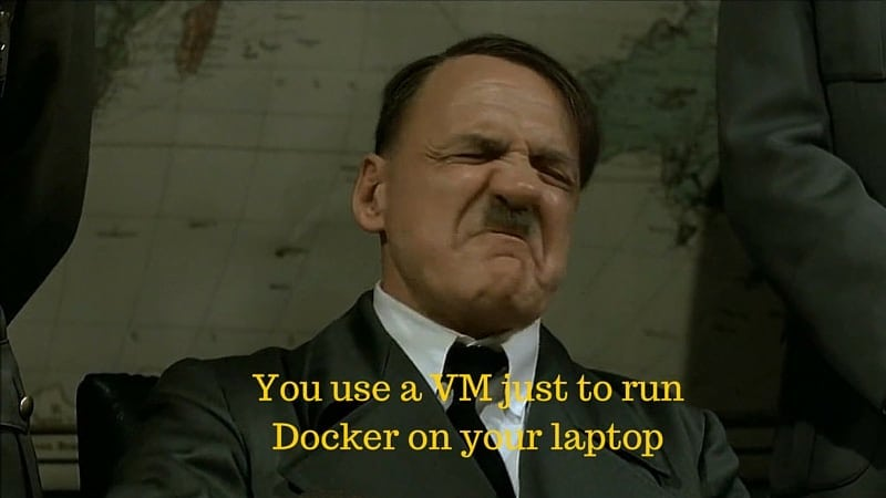 Hitler using Docker funny video