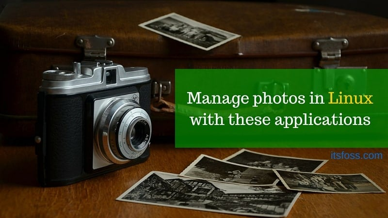 Best Linux Photo Management Software