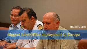 Italian Military to Save Millions by Switching to LibreOffice