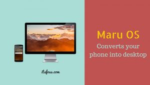 Maru OS Brings Desktop Linux to Android Phones