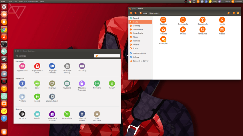Uniform icon theme in Ubuntu 16.04