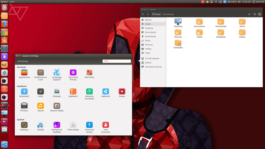 Square icon theme Ubuntu 16.04