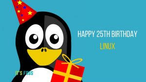 Timeline Of The Most Important Events In 25 Years Of Linux