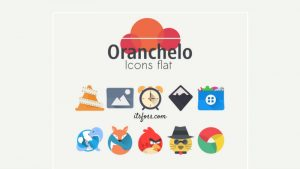 Oranchelo Is A Fresh, Flat And Fabulous Icon Theme For Linux