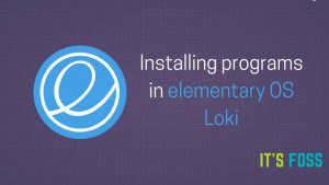 Fix Application Installation Issues In elementary OS Loki