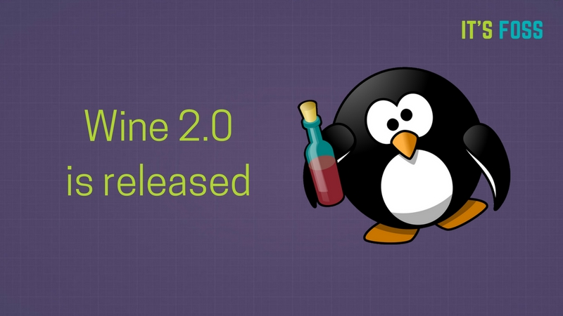Wine 2.0 Released, Now Supports Microsoft Office 2013