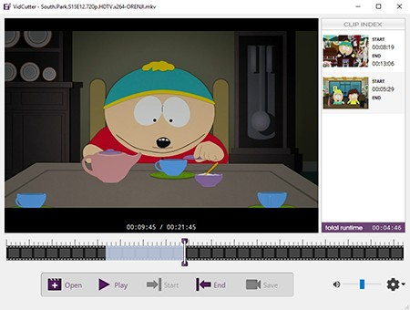 VidCutter Open Source video editor for Linux