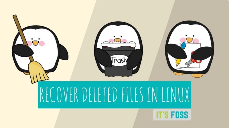 how to recover deleted files in linux