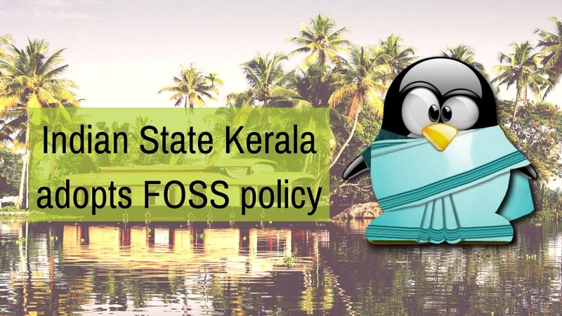 Indian State Kerala adopts Open Source