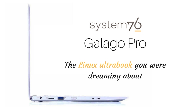 System76 Galago Pro:  Specs, Price And Release Date