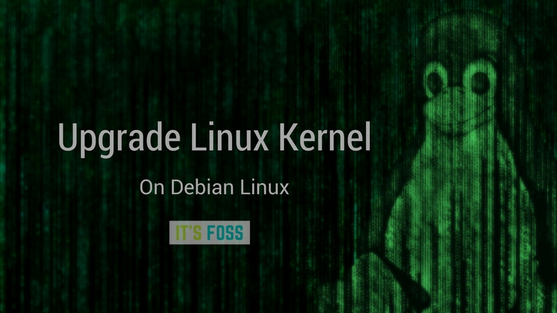 Managing Linux Kernel Upgrades In Debian