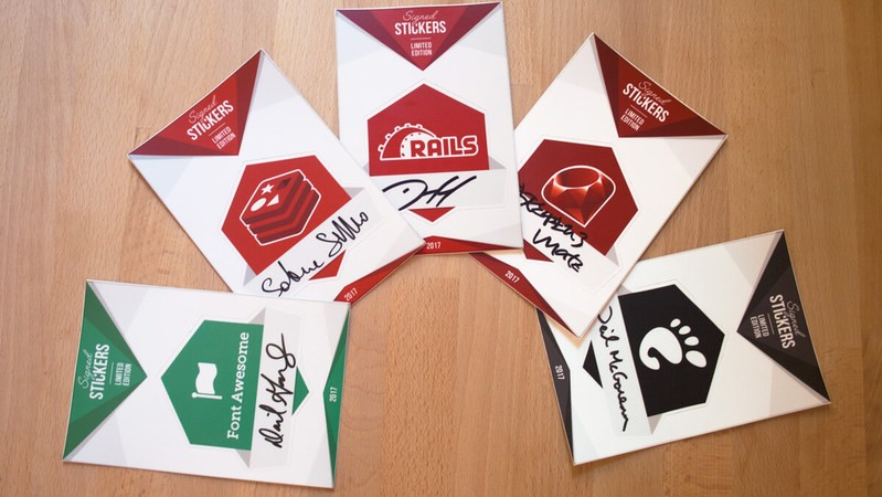 Unixstickers Launches Stickers Signed By FOSS Biggies, Will Donate Entire Revenue