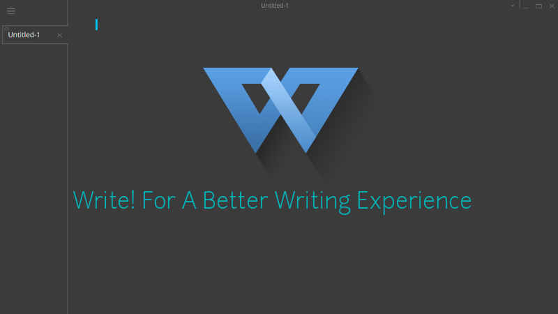 Write! An Elegant Distraction-Free Writing App Is Now Available For Linux