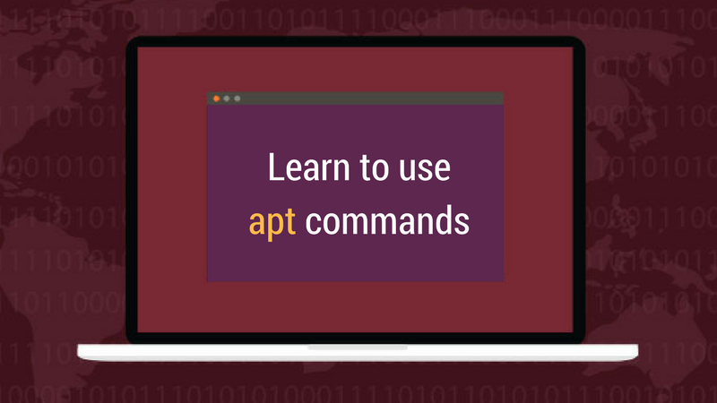 apt commands explained with examples