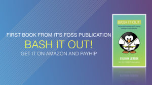 Bash It Out book from It's FOSS