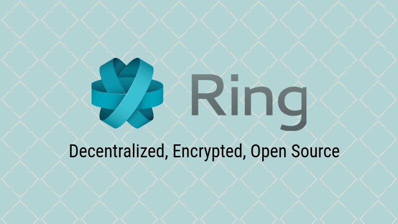 Free and Open Source Skype Alternative Ring 1.0 Released! | It\'s FOSS