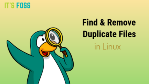 How to Find Duplicate Files in Linux and Remove Them