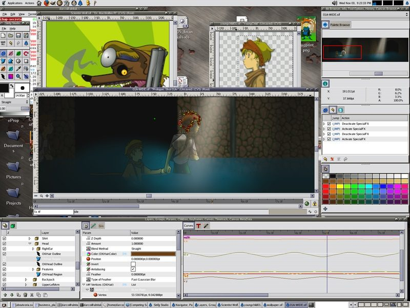 Synfig is alternative to Adobe Animate